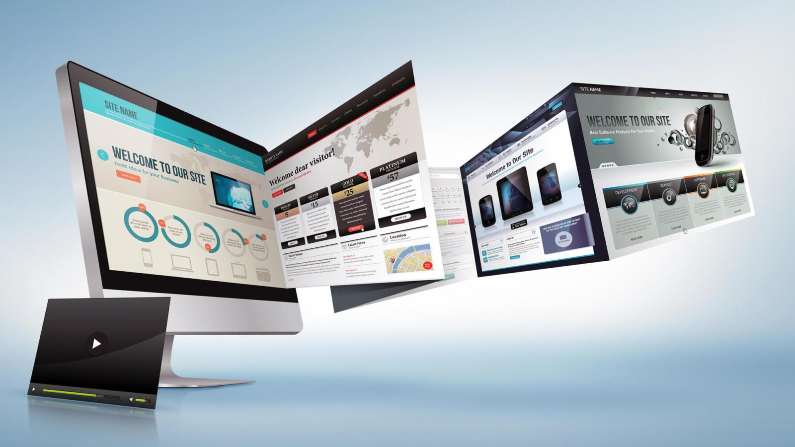 фото создание сайтов